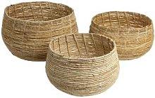 Original Home - Abaca Belly Basket Natural M -