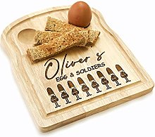 Original Monkey DIPPY EGG CUP AND SOLDIERS BOARD,