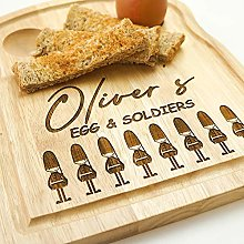Original Monkey EGG CUP AND SOLDIERS BOARD,