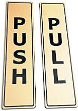 OriginDesigned GOLD Push Pull Set Pair Generic