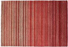 Origins Fine Stripe Rug - 120x170cm - Red