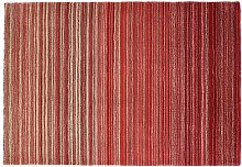 Origins Fine Stripe Rug - 160x230cm - Red