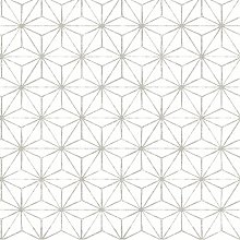 Orion Geometric 10m x 52cm Wallpaper Roll Zipcode