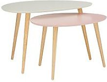 Orla Blush Set Of 2 Coffee Tables