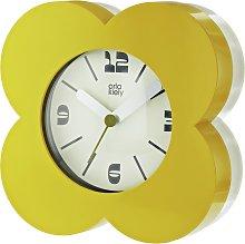 Orla Kiely Alarm Clock - Mustard & Cream