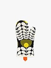 Orla Kiely Flower Stem Oven Mitt, Green/Multi