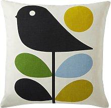 Orla Kiely House Early Bird Square Cushion - Duck