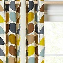 Orla Kiely Multi Stem Pair Lined Eyelet Curtains,
