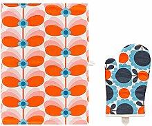 Orla Kiely OK671 Oven Glove, Cotton