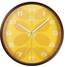 Orla Kiely Orla Kiely Wooden Wall Clock