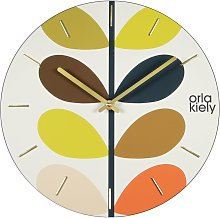 Orla Kiely Stem Frameless Wall Clock
