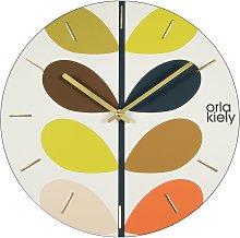 Orla Kiely Stem Frameless Wall Clock
