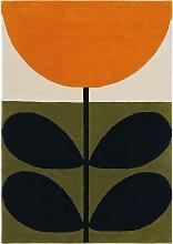 Orla Kiely Sunflower Orange Rug, L230 x W160 cm
