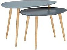Orla Retro Set Of 2 Coffee Tables