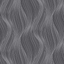 Orla Wave Glitter Wallpaper Slate Muriva 153107