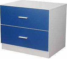 Orlando 2 Drawer Wooden Kids Bedroom Chest Cabinet