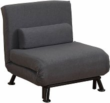 Orlie Chair Bed Zipcode Design Upholstery Colour: