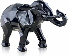 Ornament for Living Room, Modern Abstract Elephant