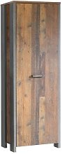 Orobanche 1 Door Wardrobe Williston Forge