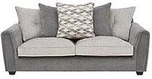 Orson Fabric 3 Seater Sofa