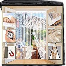 Orumrud Magnetic Fly Screen Door, 140x210 cm Door
