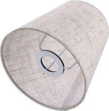 OSALADI 1Pc Linen Cloth Lampshade Lamp Cover