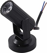 OSALADI 2 PCS LED Beam Pinspot Light Mini Stage