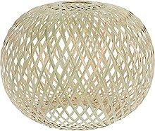 OSALADI Ceiling Pendant Light Shade Rattan Basket