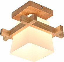 OSALADI Ceiling Solid Wood Lamps Japanese Ceiling