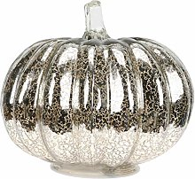 OSALADI Glass Pumpkin Light Halloween Pumpkin Lamp