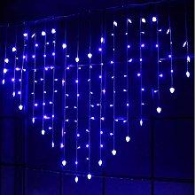 OSALADI Heart Shaped Curtain Lights, LED Window