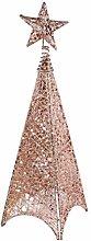 OSALADI LED Iron Christmas Tree Star Topper