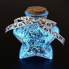 OSALADI Noctilucence Lucky Bottle Glass Origami