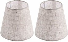 OSALADI Pack of 2 Chandelier Lampshade Fabric