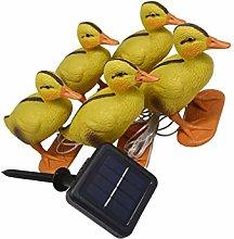 OSALADI Solar Led Stake Lights Duck Garden Lights