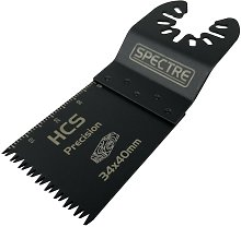 Oscillating HCS 34mm x 40mm Plunge Precision Cut