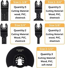 Oscillating Tool Saw Blades Quick Release Blades