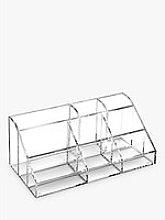 Osco Acrylic 9 Section Desk Organiser
