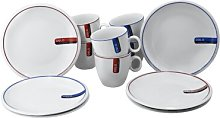 Oslo 12 Piece Place Setting Set, Service for 3