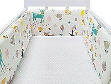osmanthus Baby Cot Bumper, Cotton Baby Crib