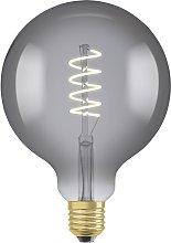 Osram 15W ES LED G125 Vintage Smoke Light Bulb