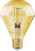 Osram 40W ES LED Vintage Diamond Light Bulb
