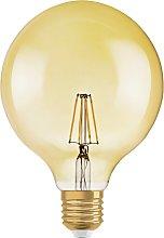 Osram 55W ES LED G125 Vintage Gold Globe Light Bulb