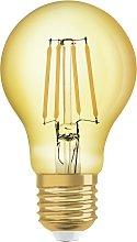 Osram 55W ES LED Glass Vintage Gold Light Bulb