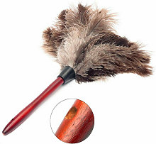 Ostrich feather duster duster wooden duster brush