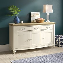 Osvaldo Wide Sideboard August Grove Finish: