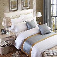 OSVINO European Style Modern Smooth Bed Runner
