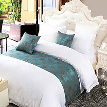 OSVINO Modern Polyester Feathers Pattern Bed
