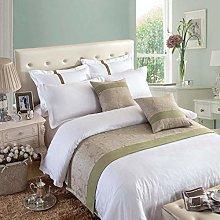 OSVINO Natural Modern Linen Bed End Scarf Runner