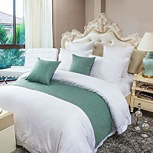 OSVINO Simple Solid Color Polyester Cotton Bedroom